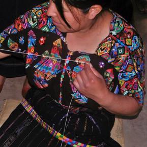 Weaving brocade