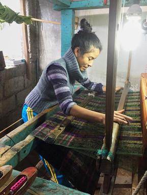Weaver in Salcajá
