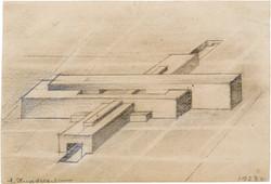 Design_for_Horizontal_Architecton_–_Aero-club_Axonometry1923