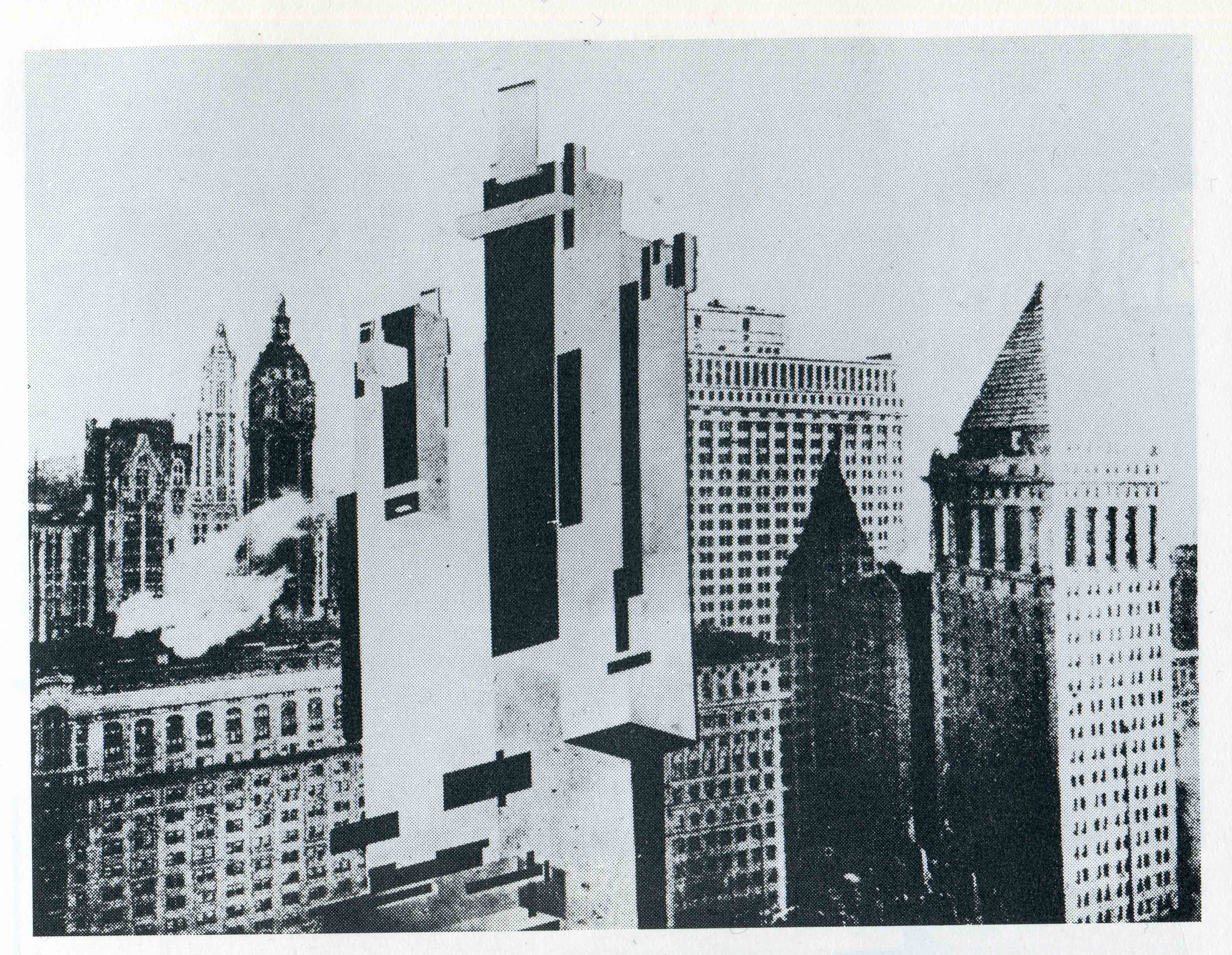 1927 Malevich Architecton in NY