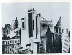 1927 Malevich Architecton in NY