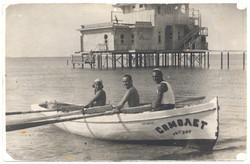 12  Rosa Lazar on boat Samolet