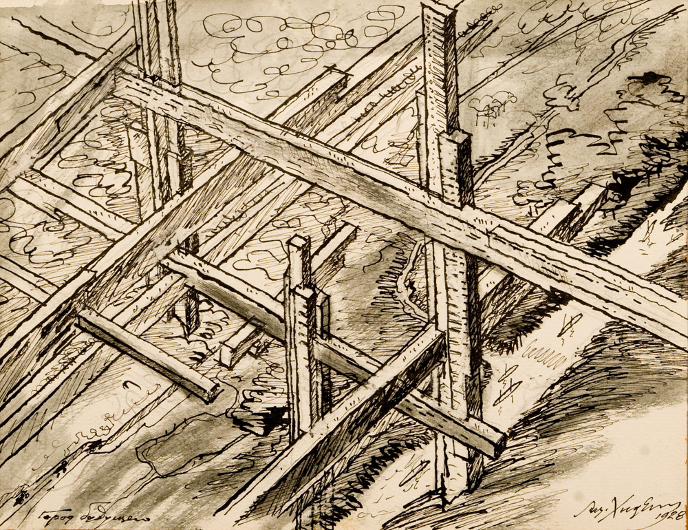 LKhidekel_SketchFutureCity_1928