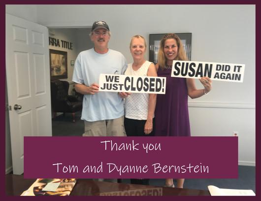 Tom and Dyanne Bernstein