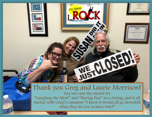 Greg and Laurie Morrison