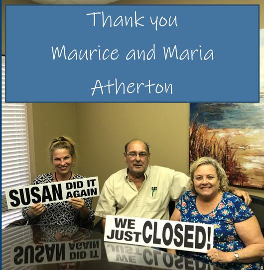 Maurice and Maria Atherton