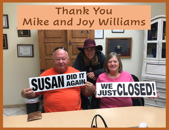 Mike and Joy Williams