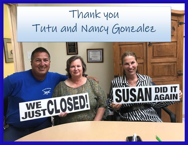 Tutu and Nancy Gonzalez