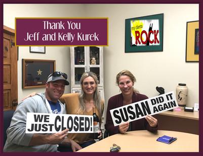 Jeff and Kelly Kurek