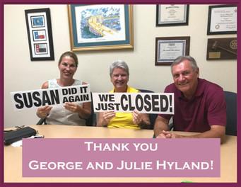 George and Julie Hyland