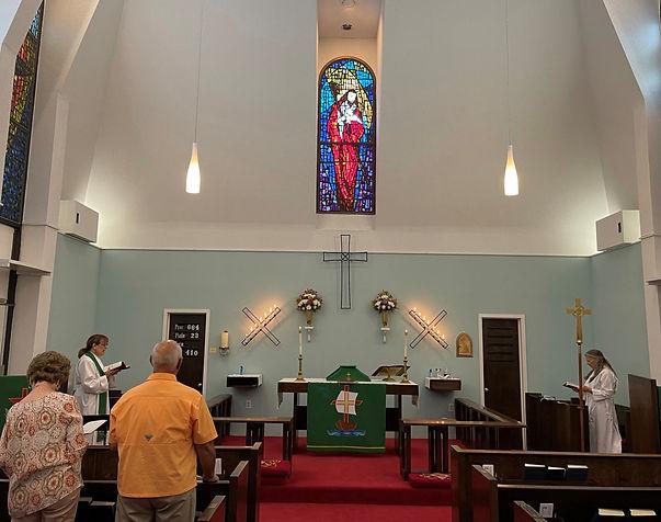 Sanctuary at St. Andrews Episcopal Port Isabel, TX