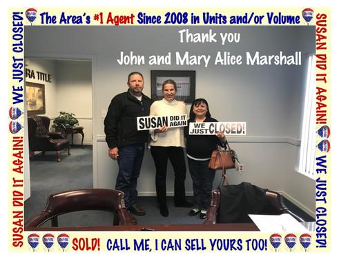 John and Mary Alice Marshall