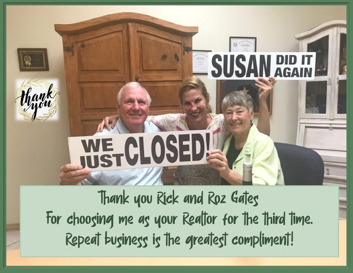Rick and Roz Gates