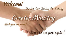 Greeter Ministry at St. Andrews Episcopal Port Isabel, TX