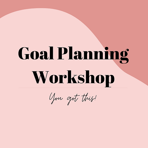 Goal Planning Workshop