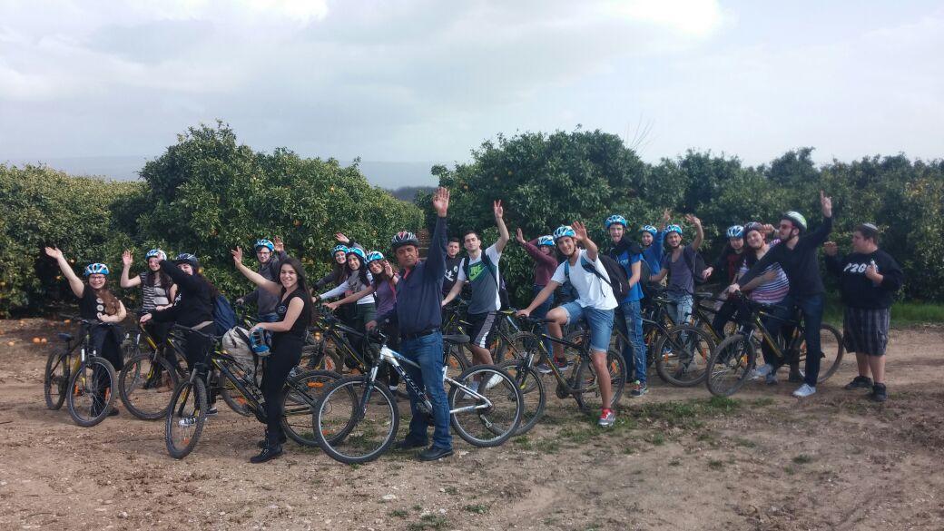טיול אופניים מפגש הנחלים
