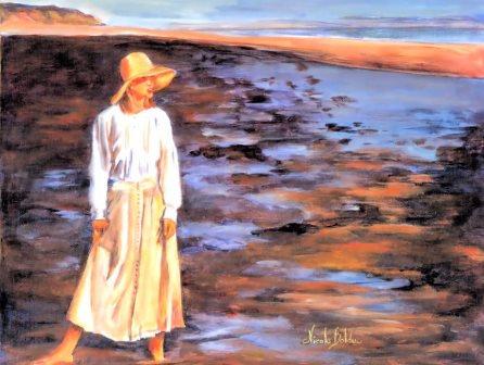 LP53 Femme à la mer