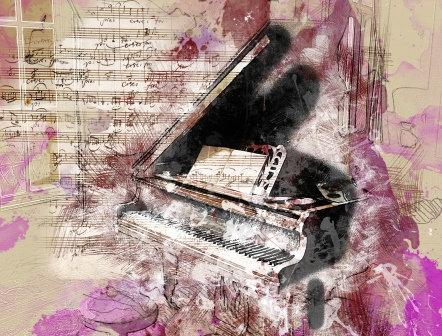 LP729 Le piano