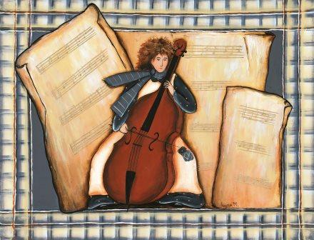 LP171 La musicienne