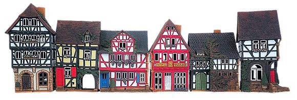 RS4 Rue des maisons historiques de Lauterbach