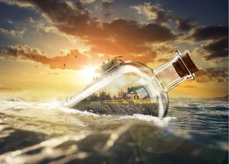 LP723 La bouteille à la mer