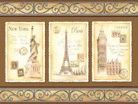 LP167 Carte postale