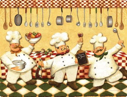 LP80  Les cuisiniers