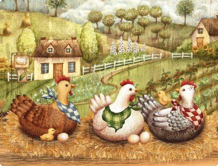 LP89 Les 3 poules