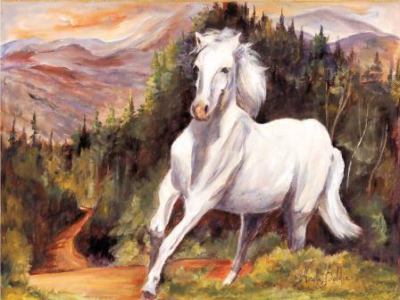 LP55 Le cheval blanc