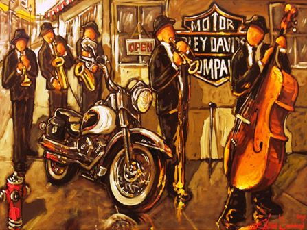 LP502 Le Blues du Harley