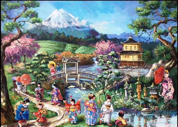 LP225 Scène japonaise
