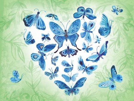 LP276 Le coeur papillon