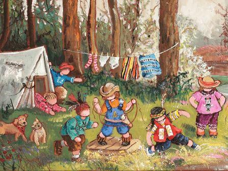 LP28 Le camping