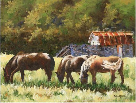 LP801 Les chevaux