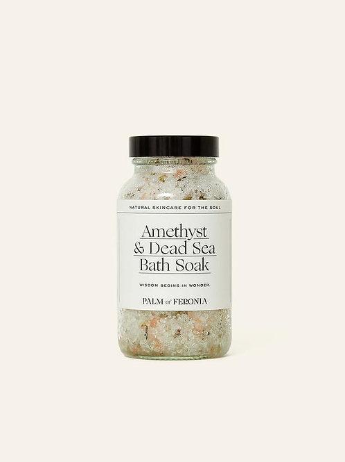 Palm of Feronia | Amethyst & Magnesium Bath Soak.