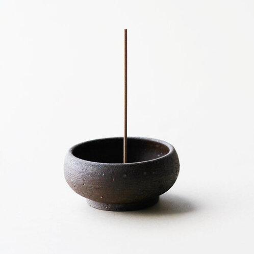Ume | Wabi Sabi Mud Clay Incense Bowl