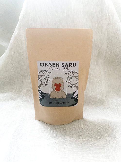 Onsen Saru | Japanese Hot Springs Bath Soak