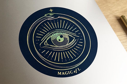 Magic of I | Sticker