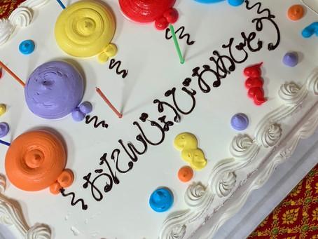 8月誕生日パーティー August Birthday Party