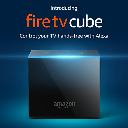 Amazon Fire TV Cube | KODI 18.0 Leia | Hands-Free with Alexa and 4K Ultra HD