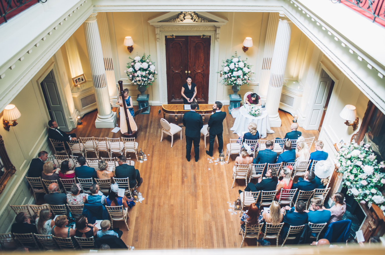 Wedding at Hedsor House, Taplow