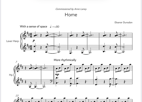 Home - Sheet Music (Digital Download)