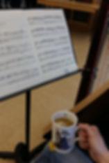 Affairs of the Harp mug