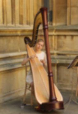 Eleanor Dunsdon Wedding Harpist London and Berkshire