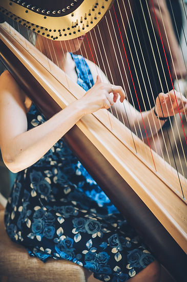 Eleanor Dunsdon Harp Teacher and Wedding Harpist