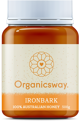 500g Ironbark Raw Honey