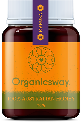 500g Manuka Raw Honey - MGO 263+ / UMF 10+