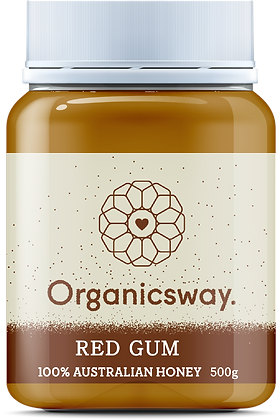 500g Red Gum Raw Honey