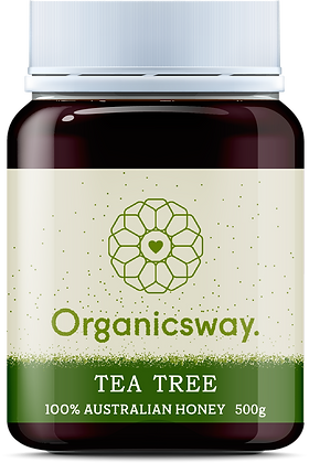 500g Tea Tree Raw Honey