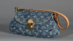 Vuitton sac occasion denim